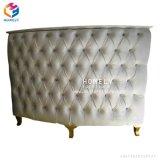 수신 테이블의 둘레에 절반 살롱 아름다움 백색 싱크대