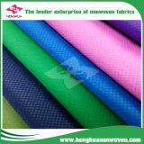 2600mm DOT/Cross 100 por cento de tela não tecida de matéria têxtil Girar-Ligada em Rolls
