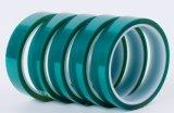 絶縁体の温度のリチウム電池のための抵抗力がある緑のシリコーンペット保護テープ