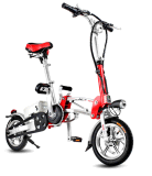 12-дюймовый мини складной велосипед с электроприводом