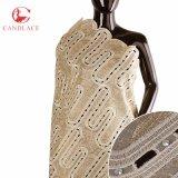 Stili africani del tessuto del Organza dei Sequins per il vestito dalla donna