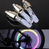Светодиод велосипедных шин автомобиля крышки клапана колеса давление воздуха в шинах лампа