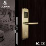 Nueva llegada el hotel electrónica sin llave cerradura de puerta corrediza de aluminio