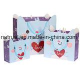 Sacchetto di Tote di carta stampato privato su ordinazione di acquisto