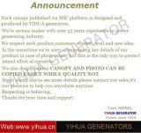 Yihua- Deutz 10-100с воздушным охлаждением Основная мощность квт 50Гц дизельных генераторах[IC180227b]