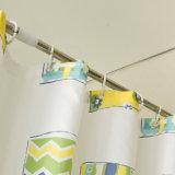 Домашний декоративный занавес ливня полиэфира для ванной комнаты (18S0066)