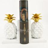 Het hand Gesneden Beeldhouwwerk van de Ananas van het Fruit van de Hars van het Decor van het Huis voor Verkoop