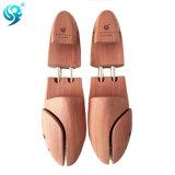 Árbol de madera del zapato de la venta del color del metal del tubo caliente de la plata