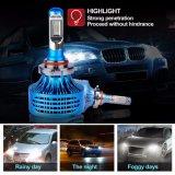 alta linterna de encargo de las linternas 9005 LED de la salida Hb3 LED del lumen de 12V 24V para el carro