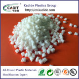 De Witte Kleur Masterbatch van het Plastic Materiaal van 60% TiO2 van Geschikt om gedrukt te worden Rang