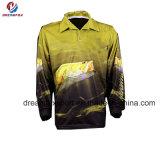 ワイシャツを卸しで採取する新しいカスタム安い昇華トーナメント釣ジャージ