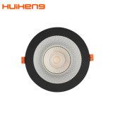 Nouveau produit 125mm et antireflet de découpe 30W à LED Downlight commerciale
