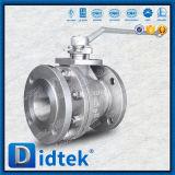 Didtek 스테인리스는 벨브 레버를 가진 공 플랜지를 붙였다