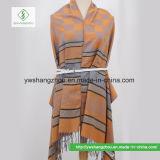 2017年のネパール様式の小さい格子縞のジャカードスカーフの方法Pashminaのショール