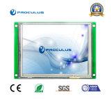 5 '' module de TFT LCD du coût bas 640*480 avec le contact résistif Screen+RS232