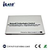 Брошюра LCD 2.4 дюймов видео-, видео- карточка