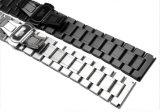 Venta caliente sólido de acero inoxidable clásica Men's Watch cordones de cierre de plegado de la banda de 5 colores diferentes para la correa de reloj Longines Link Bracelet