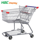 carrello di plastica del carrello di acquisto 180L per il grande supermercato
