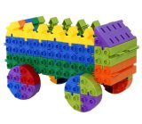 Heißes verkaufendes Plastikbaustein-Kind-Spielzeug