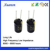 105c 6000hours 4.7 50V het Elektrolytische Lage Voltage van de Condensator UF