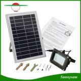 IP65는 54LED를 400 루멘 차가운 백색 안전 태양 옥외 투광램프 방수 처리한다
