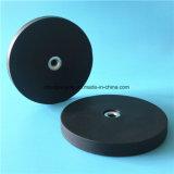 Резиновый Coated размер Standrad магнитов бака неодимия и подгоняно для потолочного освещения отладки