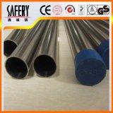 ASTM 201 acciaio inossidabile 202 304 saldato intorno al tubo