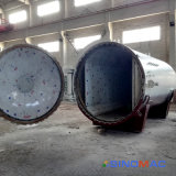 autoclave de borracha controlada aprovada do PLC Vulcanizating de 2000X5000mm ASME
