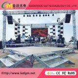 Im Freien farbenreiche energiesparende druckgießende Miet-Bildschirmanzeige LED-P8/Bildschirm/Vorstand/Zeichen