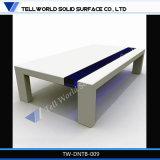 Tavolino da salotto di superficie solido acrilico moderno di stile del latte
