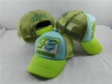Kundenspezifische Baseball-Hut-Fernlastfahrer-Streifen-Ineinander greifen-Schutzkappe