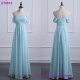 Criss-Cross шифоновое тучное длиннее платье Bridesmaid