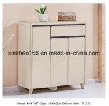 O gabinete de armazenamento calç a filial de madeira do MDF Qiaosen do assento de banco