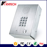 Telefone Emergency sem fio de uma comunicação do elevador Knzd-03 com mini altofalante