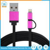 2 in 1 dato del USB che carica il cavo del telefono mobile