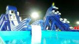 Trasparenza di acqua gonfiabile gigante della sosta dell'acqua per gli adulti