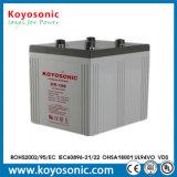 batterie à énergie solaire de la batterie d'accumulateurs de centrale électrique de 2V 1200ah AGM