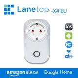 Controllo astuto standard di Wi-Fi della spina dell'Ue di Lanetop
