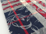 Un tessuto pronto del tessuto tinto 100% del filo di cotone con Printing-Lz6552