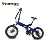 Bicicleta elétrica Pocket aprovada da bateria de lítio do Ce que dobra a bicicleta de Electirc