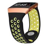 Venda a quente de Silicone borracha faixa de relógio de desporto para Fitbit Ionic