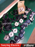 Codificatore rotativo 58/12 dell'asta cilindrica semivuota incrementale ottica