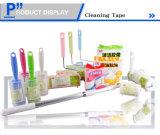Fácil de rasgar el adhesivo de cinta adhesiva de limpieza del rodillo rodillo de pelusa