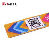 Uma vez use papel pulseiras Tyvek RFID para eventos e gestão do Festival
