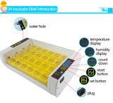 O automático modelo o mais atrasado de Hhd girando 24 incubadoras do ovo da galinha