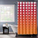 DOT печать домашних душ шторки с градиентом цвет заливки