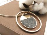Star Fashion Circle Colar de jóias de ouro de imitação de Metal Factory