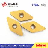 Inserciones de carburo de tungsteno inserciones de corte CNC