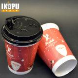 8oz 100% Beschikbare Vriendschappelijke Kop van het Document van de Koffie Eco