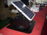 Battery Operatedの20W Insect Proof Solar Panel Powered Exhaust Fan
